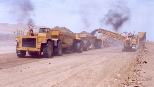 Bottom Dump Earthwagons - 120-140 TRAIN2